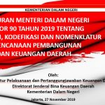 Peraturan Menteri Dalam Negeri Nomor 90 Tahun 2019